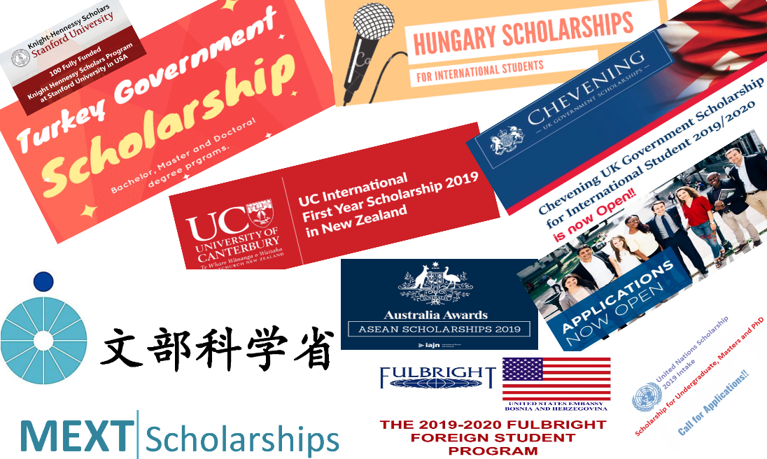 Fully Funded Scholarships for 2019 - Free Consulting